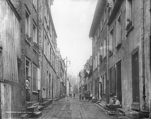photo credit: Little Champlain Street, Quebec City, QC, about 1890 via photopin (license)