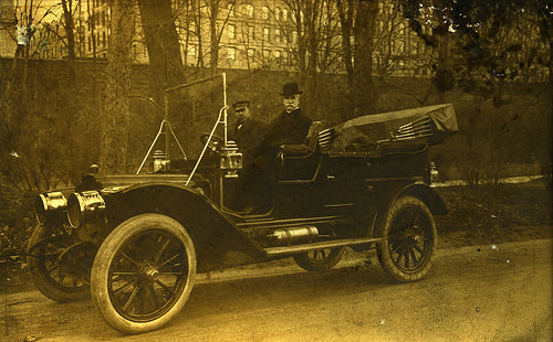 photo credit: Postcard of Vintage car with driver via photopin (license)
