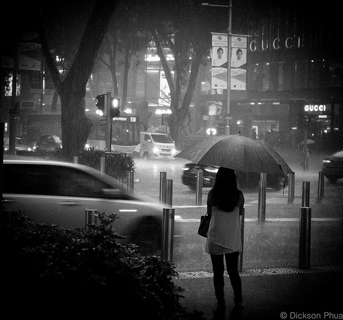 photo credit: gunman47 Braving the heavy rain alone via photopin (license)